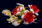Цветочная ветка  Малая Шиповник красная