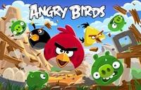 Вафельная картинка Birds (злые птички)