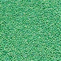 Посыпка кондитер. Шарики Зеленые, перламутр, 100 гр
