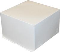 Упаковка для торта на 2 кг.Белая
