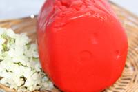 Паста для лепки Мастика OVALETTE красная, 500 гр