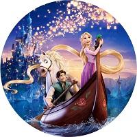Вафельная картинка принцесса Рапунцель2, Д20