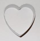 Выемка для теста Сердце 5,5х5,3 см.