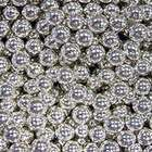 Шарики сахарные серебряные 7мм, 100 гр