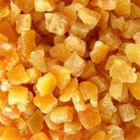 Апельсиновые корки, засах.  цукаты, 6х6 мм, 200 гр