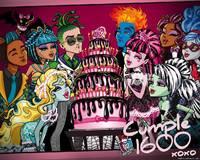 Вафельный лист Monster High  , А4