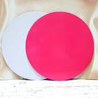 Подложка, розово/белая, 3 мм , Д34