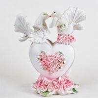 Свадебный декор ГОЛУБИ 9*5*11 см ,пластик