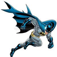 Вафельная картинка Бэтмен, 20*20 см