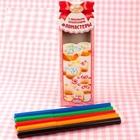 Набор фломастеров с пищевыми красителями 5 цветов ЯРКИЕ