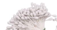 Тычинки Lucia Craft (матовые белые , 1 мм), 10 шт