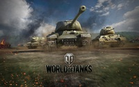 Картинка вафельная World of Tanks, А4