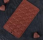 "Форма для льда и шоколада ""Сердечки"", 24 ячейки 114002"