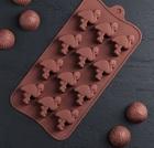 Форма для льда и шоколада «Фламинго» 20*10,5, 12 ячеек, 4587802