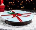 Подставка для торта вращающаяся «Подарок», d=32 см 5046419