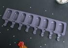 """Форма для леденцов и мороженого """"Эскимо """", 8 ячеек,4324231"""