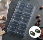 """Форма для шоколада 28×14 см """"Батончик"""", 18 ячеек 4459560"""