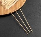 Набор шпажек (шампур) 20 см 85-90 шт, диаметр 3 мм