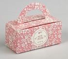 "Коробка для сладостей ""Ты и я вместе"", 12 х 5.5 х 5.5 см 2858640"