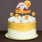 Украшение для торта «Денег в Новом Году», топпер, шпажки