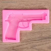 """Молд 11х7,5х1 см """"Пистолет"""""""