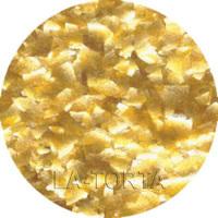 Глиттер золотой Flakes ,7 гр