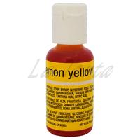 Гелевый краситель Chefmaster ,Lemon Yellow, 21гр