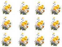 Вафельная картинка Пасха для кексов