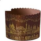 Форма для кулича Храм золотой, Д124*100