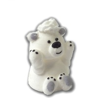 Сахарные фигурки Медвежонок умка, 1 шт