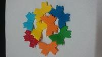 Сахарное украшение Бабочки разноц на проволоке, 7 шт