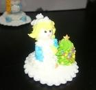 Сахарное украшение Снегурочка,1 шт