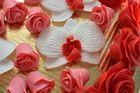 Украшение сахарное, Орхидеи белые, 1 шт