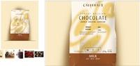 Бельгийский  шоколад в таблетках Callebaut Select - Белый 28%, 250 гр.