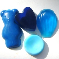 Краситель сухой Синий (бриллиантовый)  ROHA DYECHEM, 50 гр
