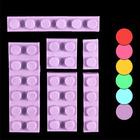 Сахарные фигурки Конструктор Лего 15-48мм, 6шт