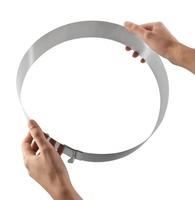 Форма для выпечки dolcetteria с изменяющимся диаметром круглая 16-28см