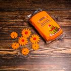 Сахарное украшение, Цветочки, оранж , 5 шт