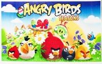 Вафельная картинка Angry Birds (злые птички)