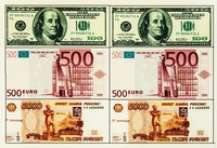 Вафельное украшение Деньги , А4