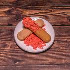 Сердечки сахарные красные  , 100 гр
