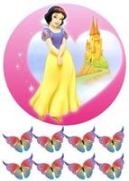 Вафельная картинка Принцессы Белоснежка, А4