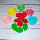 Меренги (безе) на палоке, цвет в ас-те, 1 шт