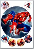 Картинка вафельная Человек-паук3, Д20