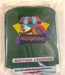 Мастика, Марципано, для обтяжки, зеленая, 1 кг