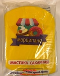 Мастика, Марципано, для обтяжки, желтая, 1 кг