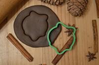 Выемка для мастика/пряники, печенье Монстр Хай Череп, 7 см , 10 см