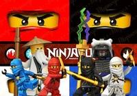 Вафельная картинка Нинзяго2, А4