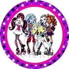 Вафельная картинка Monster High,20*20